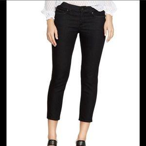 Skinny leg crop jeans